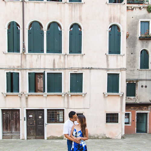 Honeymoon Photo Shooting in Venice