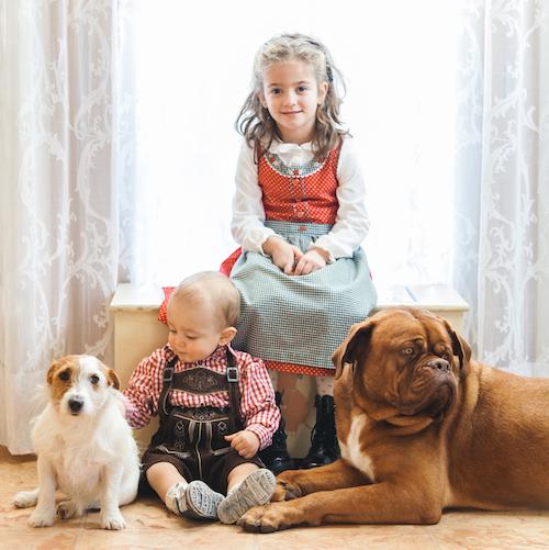 Matilda, Ettore e i loro amici a 4 zampe